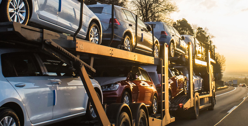 Neuwagentransport